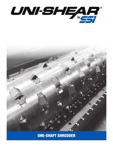 Uni-Shear® Single Rotor Shredders