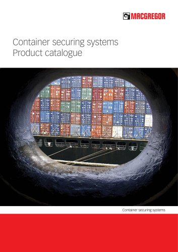 Container securing systems