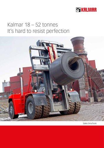 Fork lift trucks 18-52 tonnes