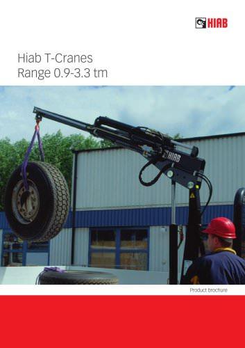 HIAB T-Cranes Range