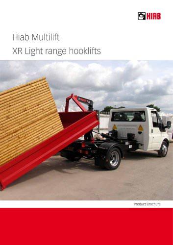 HIAB XR Light range hooklifts