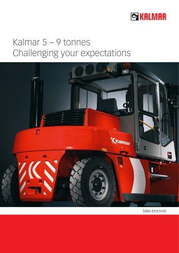 Kalmar Fork lift trucks 5-9 tonnes