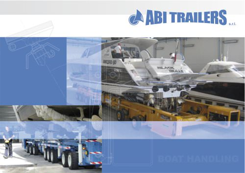 Mobile Boat Trailer - MBT - Abi Trailers