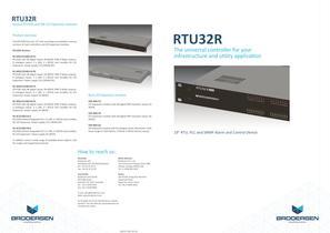 RTU32R brochure