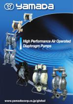 High Performance Air Operated Diaphragm Pumps - 1