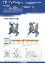 High Performance Air Operated Diaphragm Pumps - 8