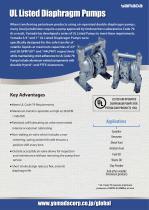 UL Listed Diaphragm Pumps - 1