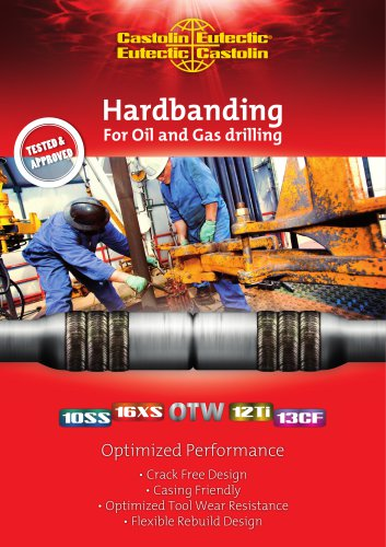 Hardbanding For Oil and Gas drilling