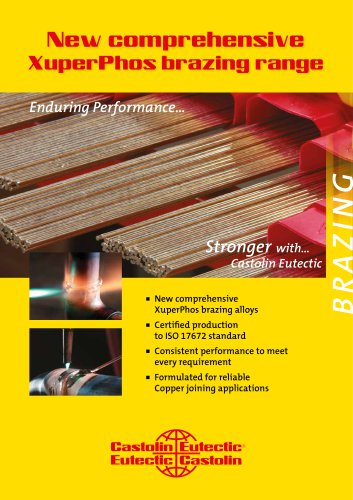 New comprehensive  XuperPhos brazing range