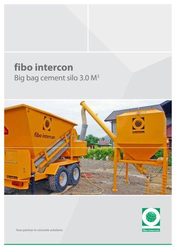 fibo intercon Big bag cement silo 3.0 M 3