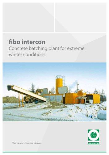 Winter batching plant FI1800