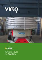 T-Line: Tumbler sieves for Powders