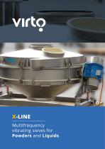 X-Line: Multifrequency vibrating sieves