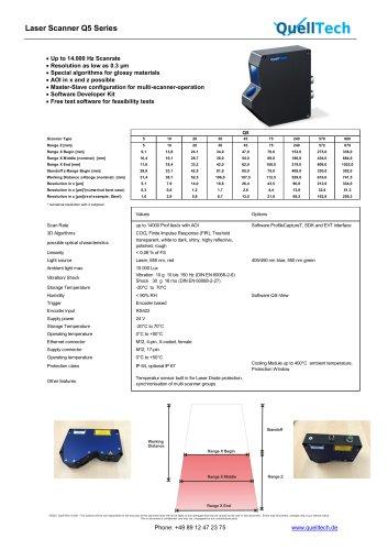 Q5 Serial Laser Scanner