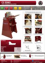 CS55M2 - FOOT OPERATED GUILLOTINE (CHOPPER) - 1