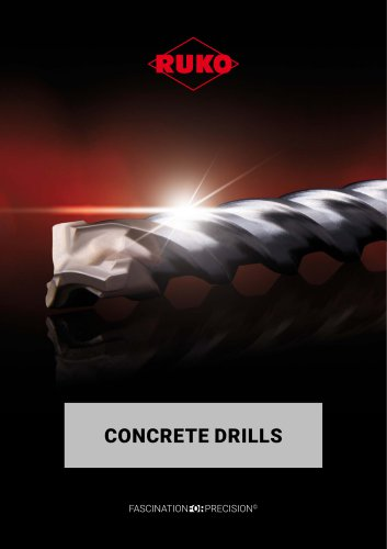 Concrete drills