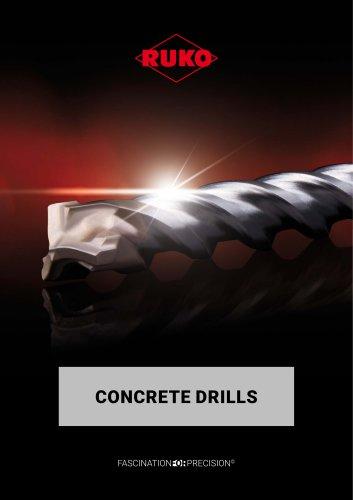 Concrete drills