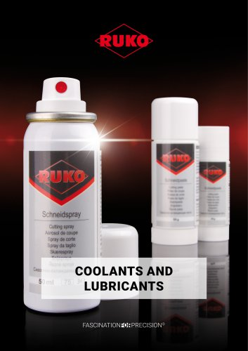 Coolants and lubricants