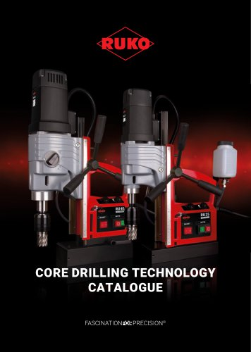 Core drilling technology