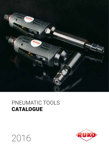 The RUKO pneumatic tools