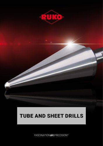 TUBE AND SHEET DRILLS