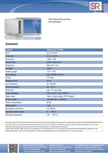 OM-FLAT 19/HD