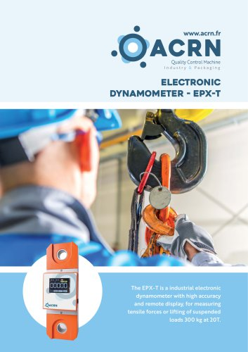 Electronic dynamometer EPX-T
