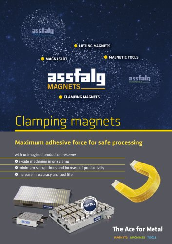 Clamping magnets