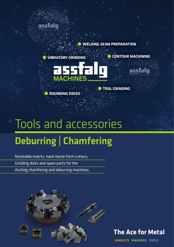 Tools and accessories Deburring | Chamfering
