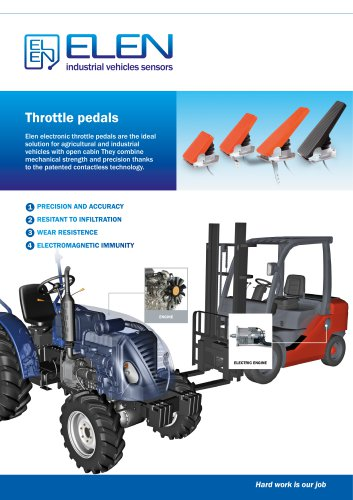 throttle pedals