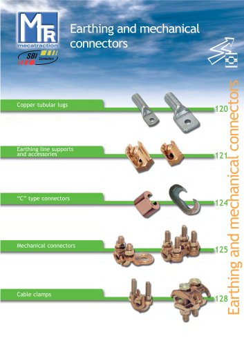Earthing connections and mechanical connectors