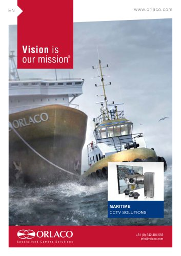 Maritime Applications Brochure