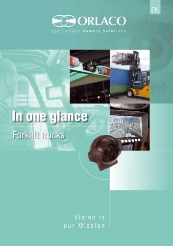 In one glance - Forklift trucks