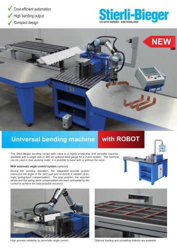 Horizontal bending machine - with ROBOT