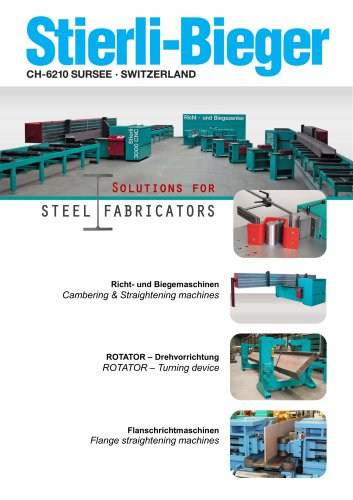 Solution for STEEL FABRICATORS