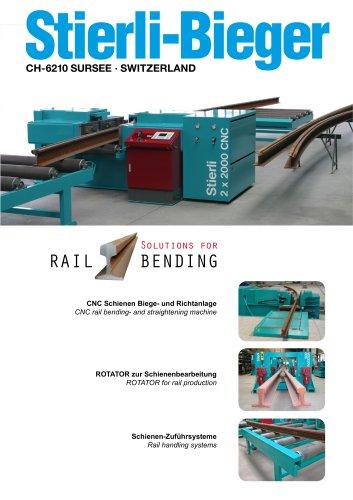 Solutions for Rail Bending