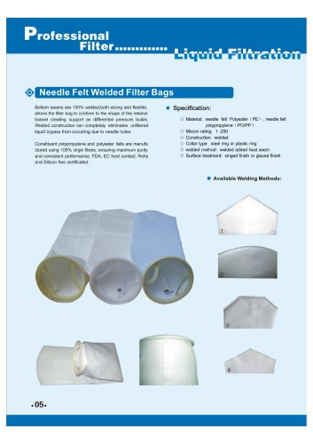 Welded Filter Bags