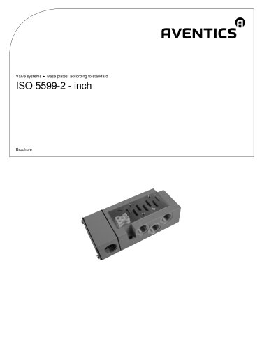 ISO 5599-2 - inch