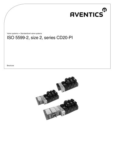 ISO 5599-2, size 2, Series CD20-PI