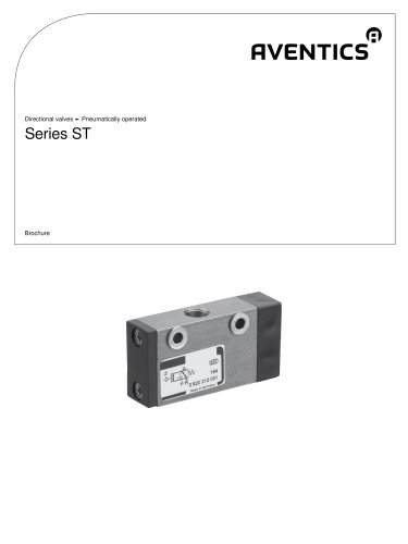 Series ST pneumatically operated