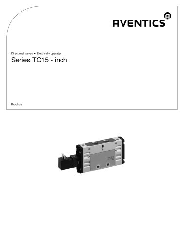 Series TC15-inch electrically operated