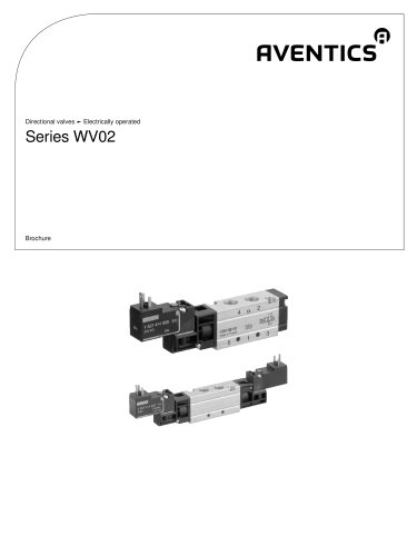Series WV02 elctrically operated