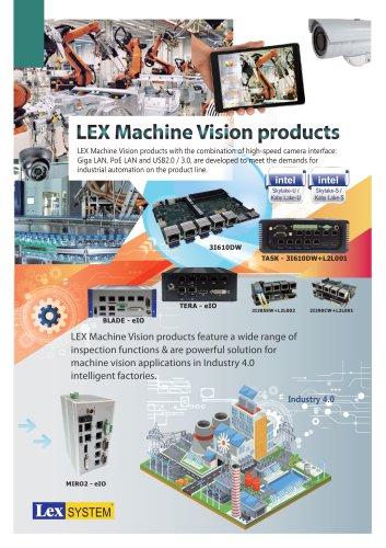 LEX Machine Vision products