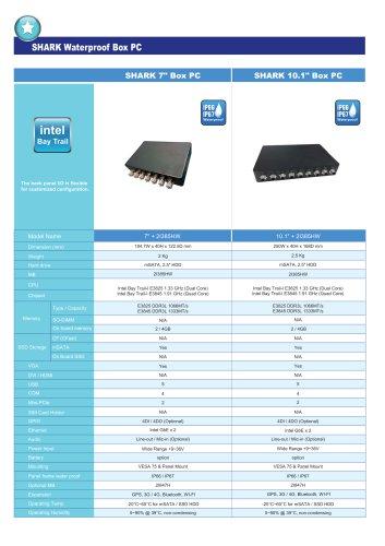 "SHARK 7"" Box PC/SHARK 7"" Box PC SHARK 10.1"" Box PC"