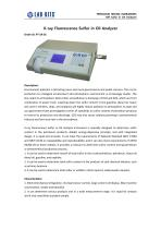 LAB-KITS+X-ray Fluorescence Sulfur in Oil Analyzer +PT-SA-01