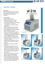 Laboratory Freeze Dryer (Lyophilizer) System (FD-Series) from LABFREEZ - 2