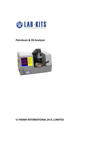 Petroleum & Oil Analyzer