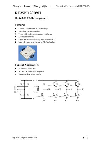 RT25PI120B9H PIM module