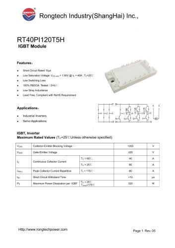 RT40PI120T5H PIM module