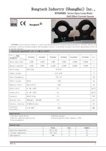 RTO2000K2 split core current sensor